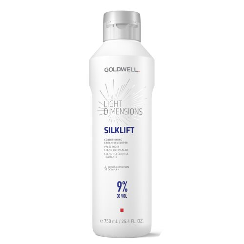 Goldwell Silk Lift Light Dimensions Silklift 9% Pflegender Creme-Entwickler 750ml