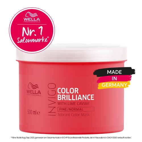 Wella Professionals INVIGO Color Brilliance Vibrant Color Maske Fine/Normal 500ml