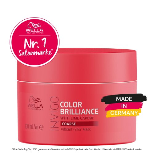 Wella Professionals INVIGO Color Brilliance Vibrant Color Maske Coarse 150ml