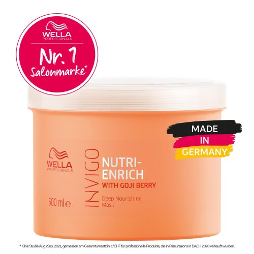 Wella Professionals INVIGO Nutri Enrich Deep Nourishing Maske 500ml