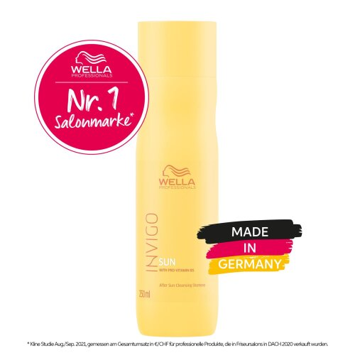Wella Professionals INVIGO SUN Sun Hair & Body Shampoo 250ml