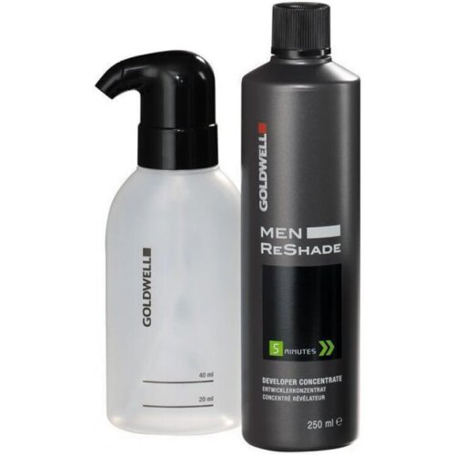 Goldwell Men Reshade CFM Set Entwickler + Applikator 250ml