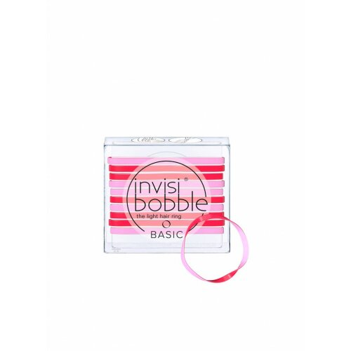 Invisibobble Basic Jelly Twist 10 Stück